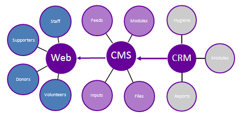 Web CMS CRM Integration