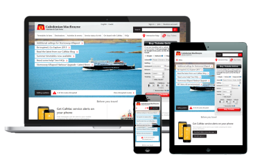 Image representing Caledonian MacBrayne transforms web presence with GOSS Interactive