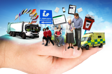 Image representing Public sector aims to save £5bn by going digital in 2015