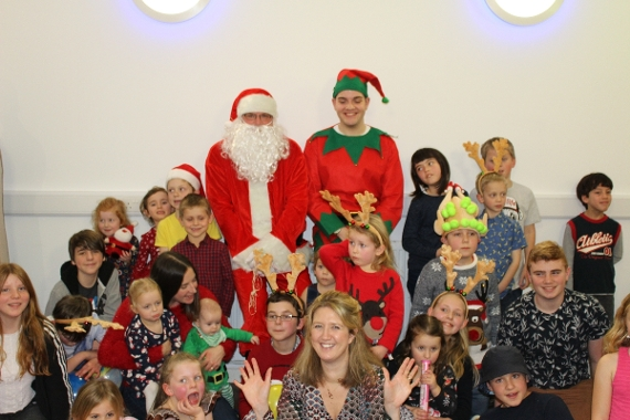 Festive Fun at the first ever GOSS Children's Christmas Party