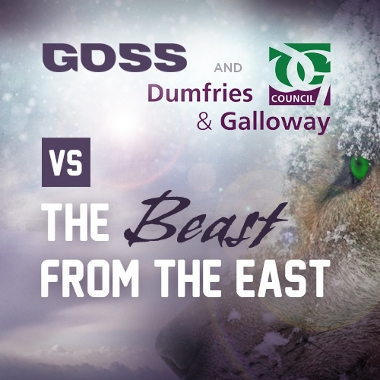 GOSS helps protect citizens of Dumfries and Galloway from the Beast from the East